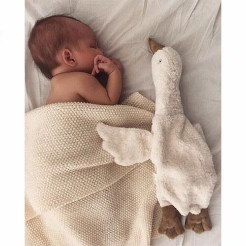 Warmteknuffel Goose white - Senger Naturwelt
