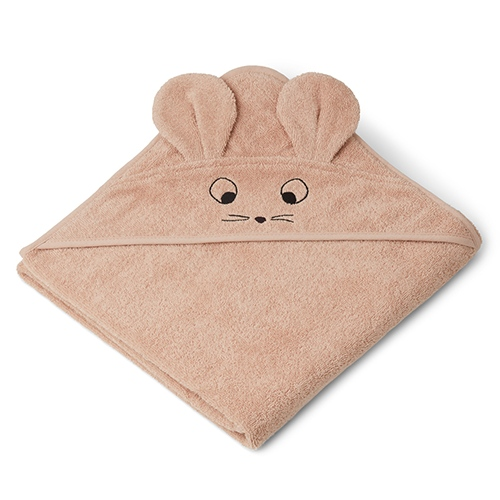Badcape Augusta Mouse Pale tuscany - Liewood