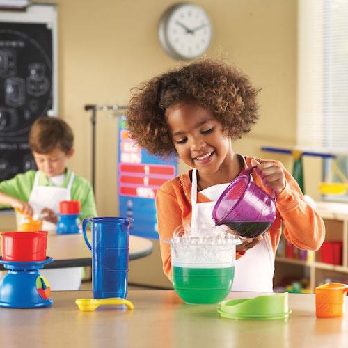 Eerste wetenschapsset Mix & Measure - Learning resources