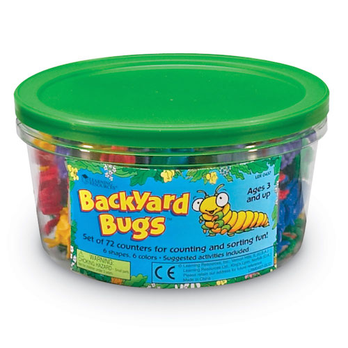 Mini bugs counters - Learning resources
