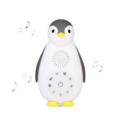 Muziekdoos Zoë de Pinguïn grijs - Zazu