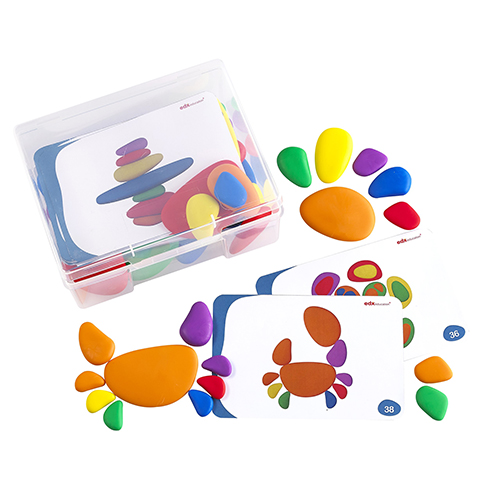 Rainbow pebbles - Tickit