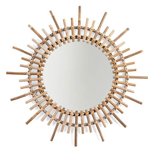 Rotan spiegel Fondi 60cm ls - Childhome