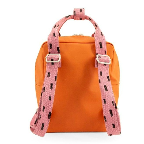 Rugzakje Small sprinkles Envelope Carrot orange | Bubbly pink - Sticky Lemon