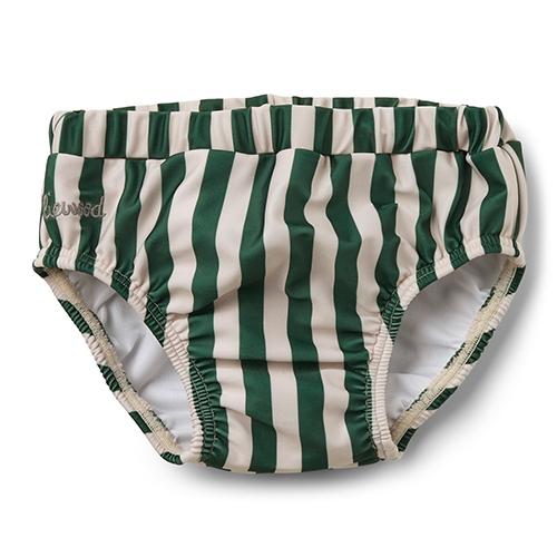 Zwembroekje Frej Baby boy - Stripe Garden green/Sandy - Liewood
