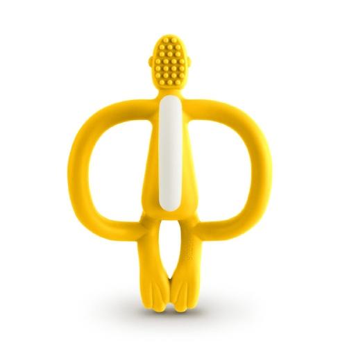 Bijtspeeltje Monkey Original Yellow - Matchstick Monkey