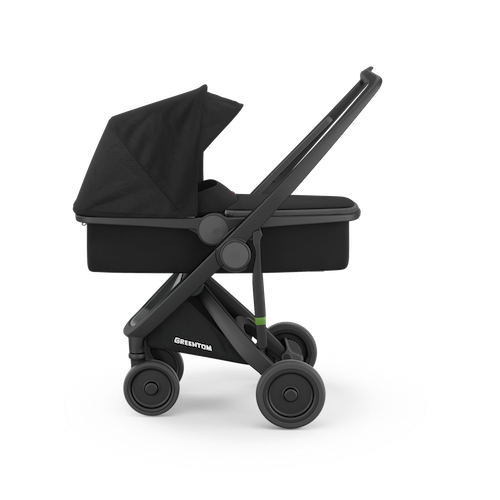 Carrycot Greentom Black / Black - Greentom