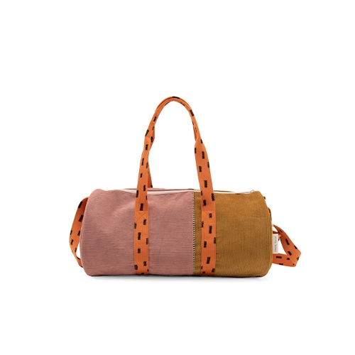 Duffelbag sprinkles Corduroy Dusty pink | dijon | carrot orange - Sticky Lemon