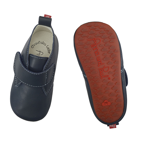 First shoes Basic Marine - Anna und Paul