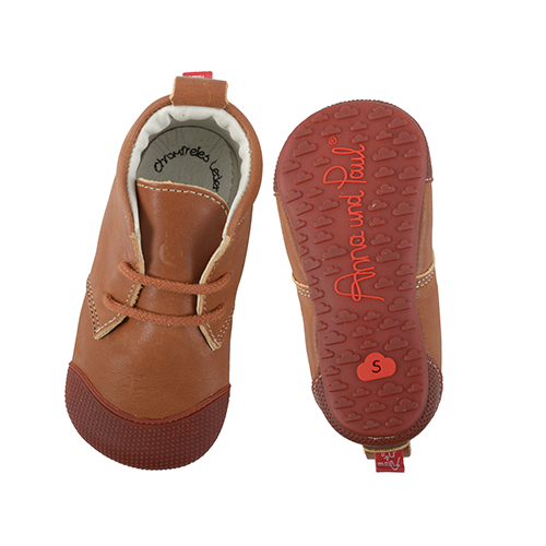 First shoes Robbi Cognac – Anna und Paul
