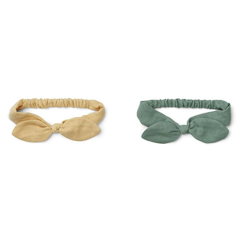 Haarband Henny 2pack Wheat yellow mix - Liewood