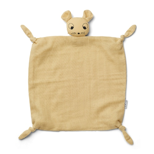 Knuffeldoekje Agnete Mouse Wheat Yellow - Liewood