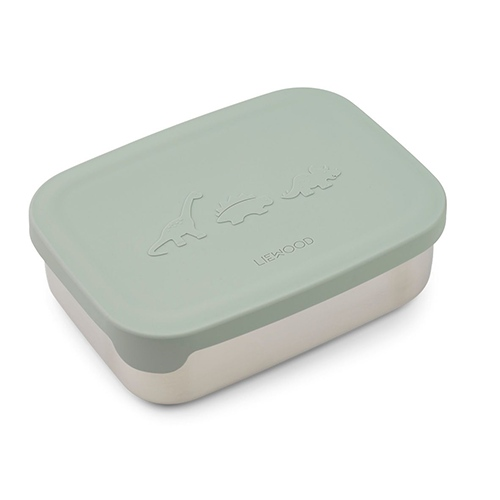 Nina Lunch box Dino Dusty mint - Liewood