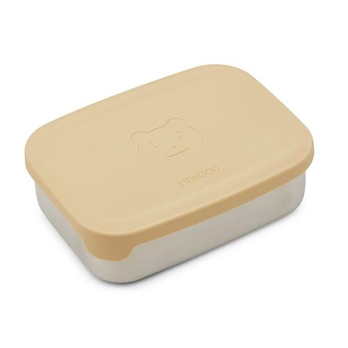 Nina Lunch box Mr Bear Wheat yellow - Liewood
