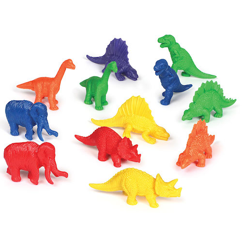 Mini dino counters - Learning resources