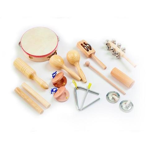 Percussie instrumenten set - Tickit