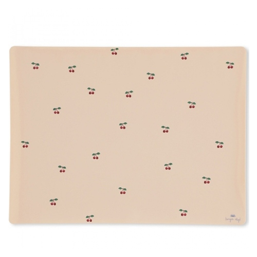 Placemat silicone Cherry - Konges Sløjd