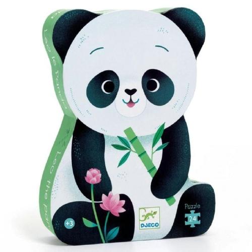 puzzel Leo de panda - Djeco