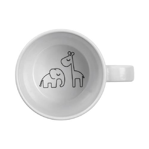 Drinkbeker Dreamy dots Grey - Done by Deer