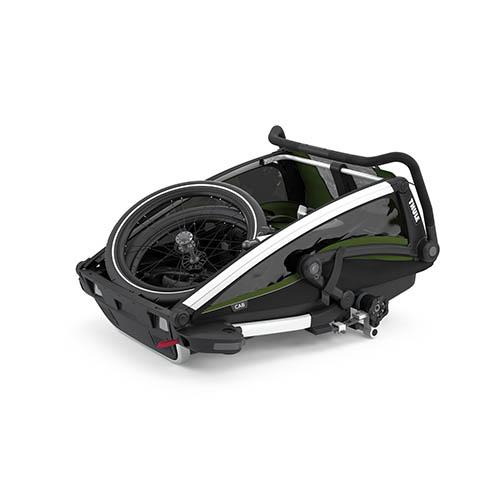 Fietskar Chariot Cab2 CypresGreen - Thule