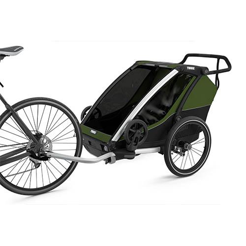 Fietskar Chariot Cab2 CypresGreen 4 - Thule