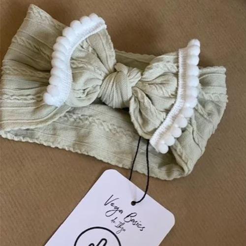 Haarband The Mariposa Off white - Vega basics