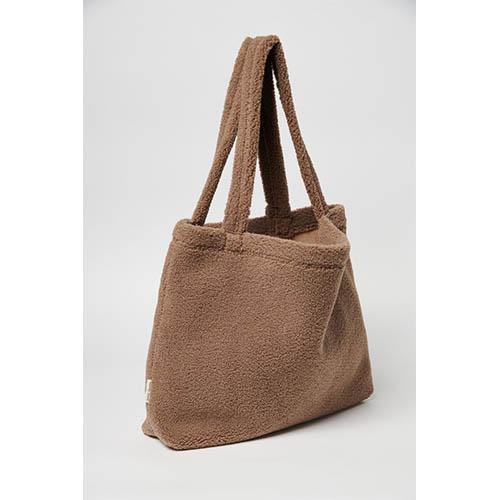 Mom bag Chunky teddy brown - Studio Noos