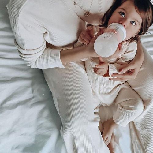 Mommy basics Two piece Ecru - Tiny By Me