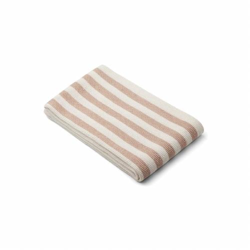 Strandlaken Macy Stripe Pale tuscany/creme de la creme - Liewood
