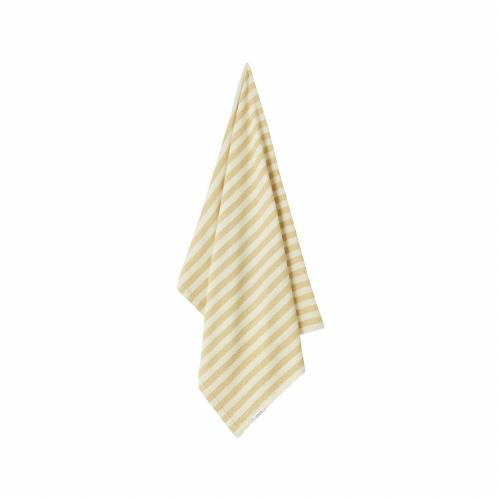 Strandlaken Macy Stripe Wheat yellow/creme de la creme - Liewood