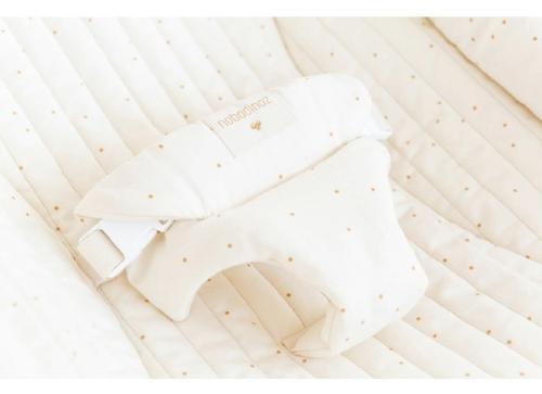 Wipstoeltje Growing Green Honey sweet dots naturel - Nobodinoz