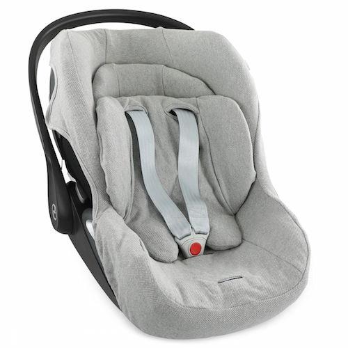 Hoes autostoel Cybex Cloud Z i-size Grain Grey - Trixie baby