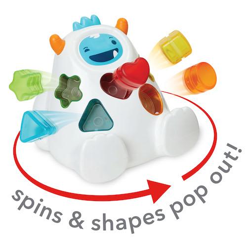 Explore & More Yeti shape sorter b - Skip Hop