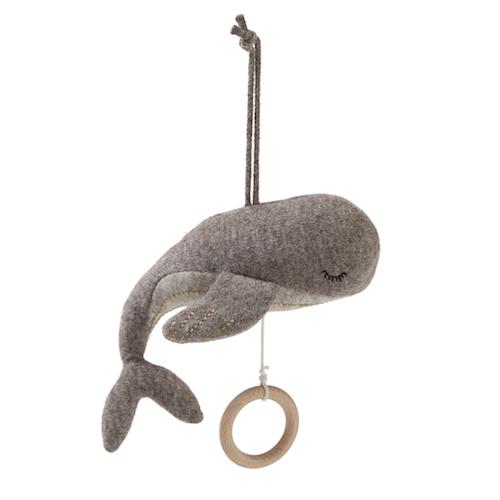 Muziek mobiel Whale - Konges Slojd