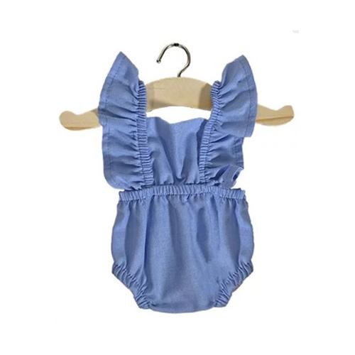 Romper Lou Blue ciel - Minikane