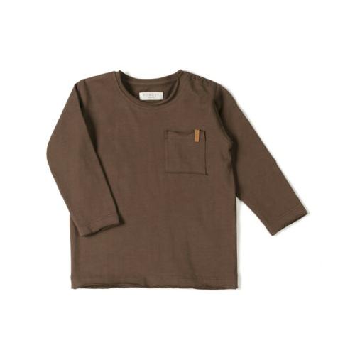 T-shirt Longsleeve Choco - Nixnut