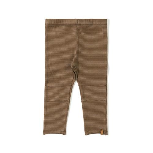 Legging Tight Stripe Toffee - Nixnut