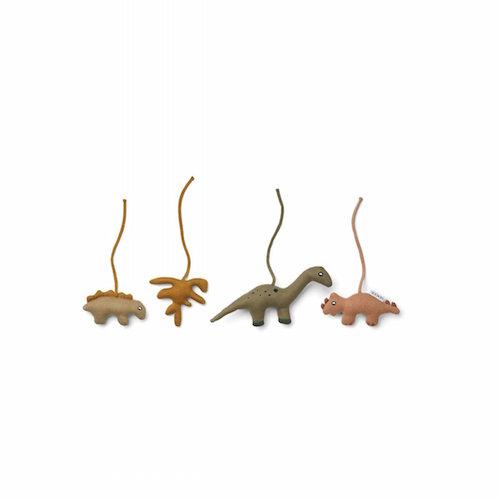 Babygym speeltjes Gio Dino golden caramel multi mix – Liewood