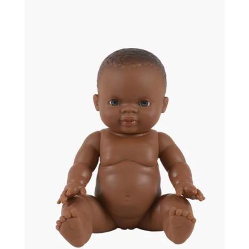Babypop meisje Afrikaans - Minikane