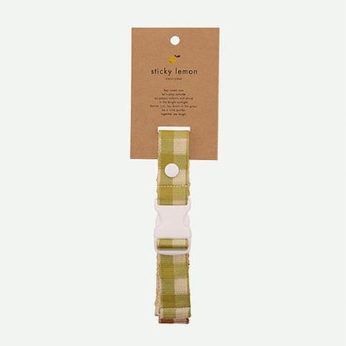 Borstriem Colourblocking Pear green - Sticky Lemon