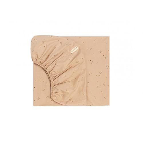 Hoeslaken Alhambra Willow dune 90x200cm - Nobodinoz