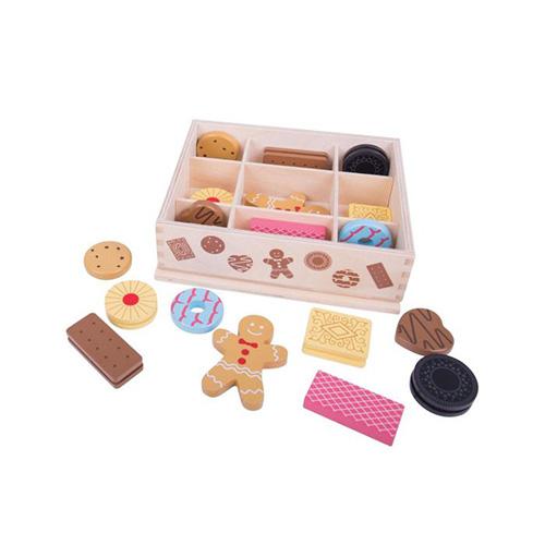 Houten kistje met koekjes - Bigjigs