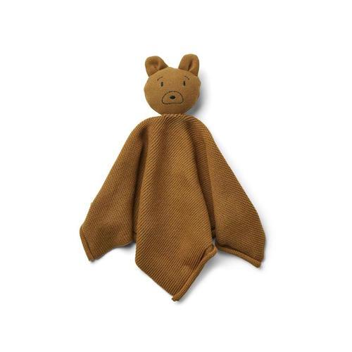 Knuffeldoekje Milo Mr bear Golden caramel - Liewood