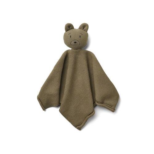 Knuffeldoekje Milo Mr bear Khaki – Liewood
