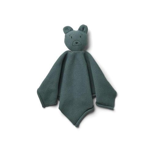 Knuffeldoekje Milo Mr bear whale blue – Liewood