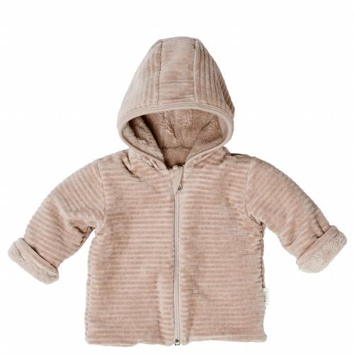 Vik Reversible jacket Grey pink - Koeka