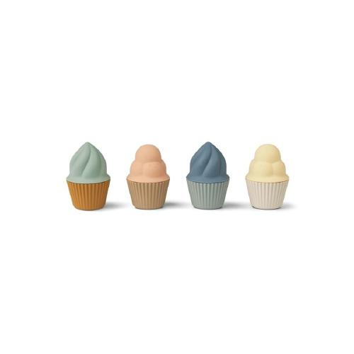 Zand- en badspeeltje Kate Cupcake - Multimix - Liewood