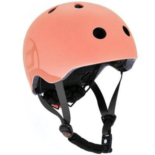 Fietshelm S/M Peach - Scoot and Ride