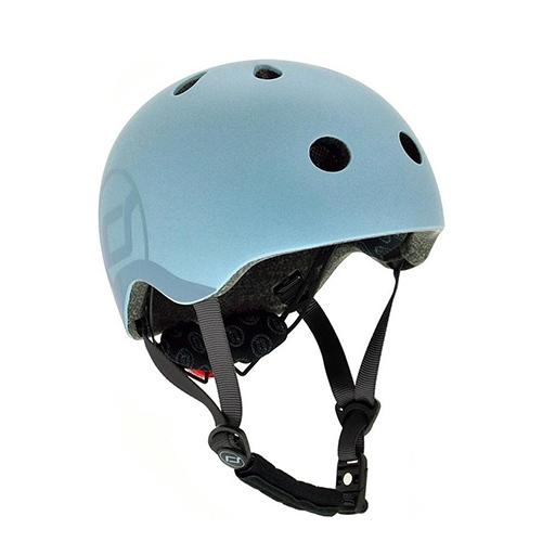 Fietshelm S/M Steel - Scoot and Ride