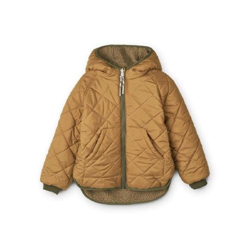 Jackson Reversible jacket Golden Caramel - Liewood
